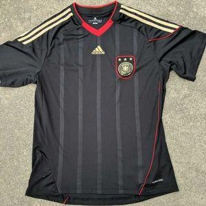 Deutscher Germany Adidas Mens Soccer Jersey Sz M